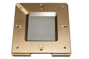 BGA Universal Schablone, 90 x 90 mm, ø 0.55 mm; Pitch 1.02 mm